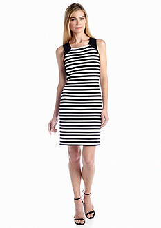 MICHAEL Michael Kors Stripe Colorblock Dress