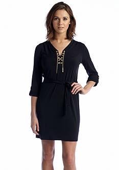 MICHAEL Michael Kors Chain Lace-up Dress