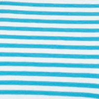 Michael Michael Kors Women Sale: Santorini Blue MICHAEL Michael Kors Cold Shoulder Striped Top
