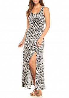 MICHAEL Michael Kors Wax Print Maxi Dress