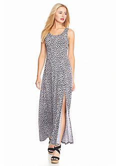 MICHAEL Michael Kors Abstract Print Maxi Dress