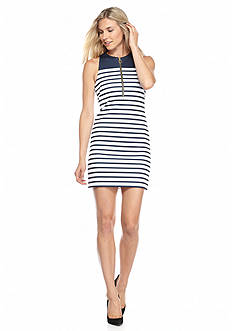 MICHAEL Michael Kors Stripe Print Dress