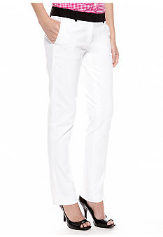 MICHAEL Michael Kors Color Block Slim Leg Pant