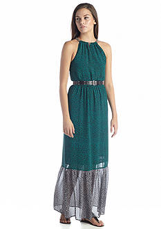 MICHAEL Michael Kors Meadow Print Chain Maxi Dress
