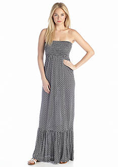 MICHAEL Michael Kors Tier Smocked Maxi Dress