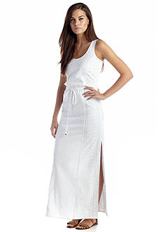 MICHAEL Michael Kors Crochet Eyelet Maxi Dress