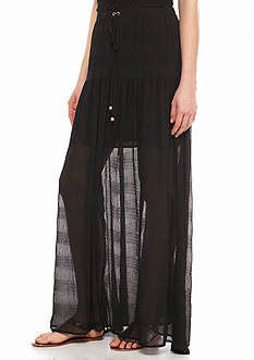 MICHAEL Michael Kors Pleated Maxi Skirt