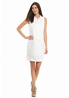 MICHAEL Michael Kors Sleeveless Shirtdress