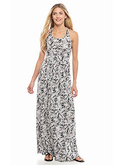 MICHAEL Michael Kors Twist Back Maxi Dress
