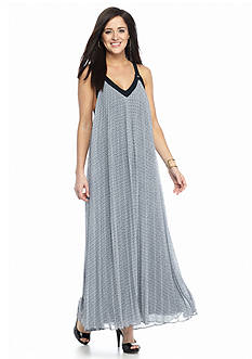 MICHAEL Michael Kors Estrada Pleated Maxi Dress