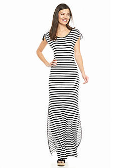 MICHAEL Michael Kors Pindo Stripe Maxi Dress