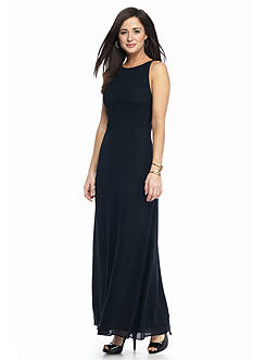 MICHAEL Michael Kors Smocked Top Maxi Dress