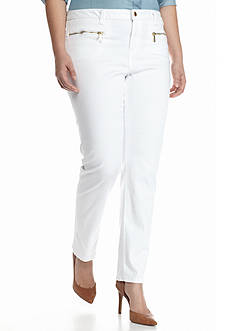 MICHAEL Michael Kors Plus Size Izzy Skinny Pants