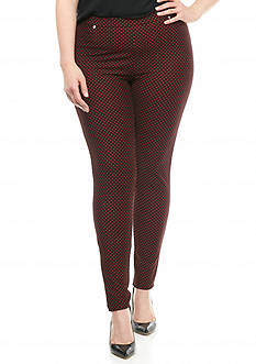 MICHAEL Michael Kors Plus Size Bungalow Dot Leggings