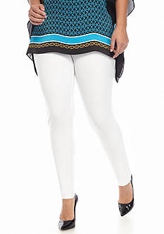 MICHAEL Michael Kors Plus Size Solid Pull-On Legging