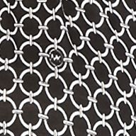Plus Size Designer Clothes: Tops & Tees: Black MICHAEL Michael Kors Plus Size Print Peasant Top