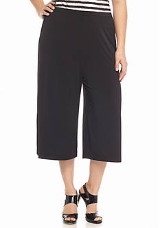 MICHAEL Michael Kors Plus Size Wide Leg Soft Pants