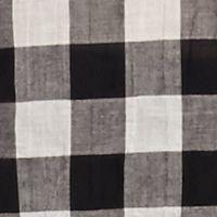 Wear to Work: Tops: Black MICHAEL Michael Kors Plus Size Water Front Plaid Shirt