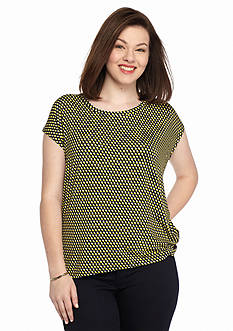 MICHAEL Michael Kors Plus Size Alston Printed Top