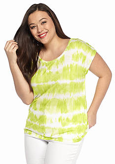 MICHAEL Michael Kors Plus Size Boho Breakers Tee