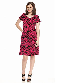 MICHAEL Michael Kors Plus Size Alicante Print Dress