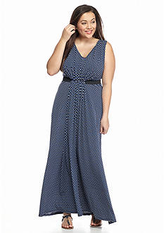 MICHAEL Michael Kors Plus Size Alston Maxi Dress