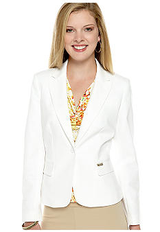 Calvin Klein One Button Blazer