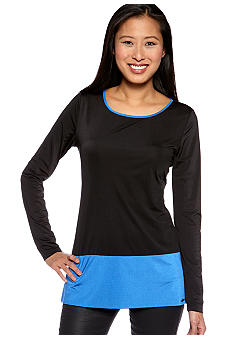 Calvin Klein Jersey Color Block Top