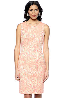 Calvin Klein Jacquard Zebra Shift Dress