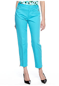 Calvin Klein Skinny Pant with Zipper Detail