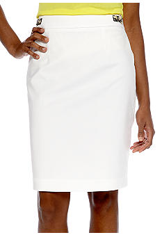 Calvin Klein Pencil Skirt with Hardware