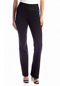 Calvin Klein Wide Waist Bootcut Pant