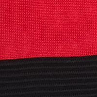 Calvin Klein Sweaters for Women: Rouge Red/Black Calvin Klein Colorblock Merino Cowl Neck Sweater