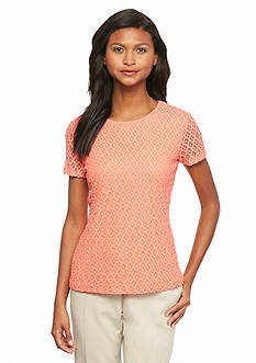 Calvin Klein Stretch Lace Tee
