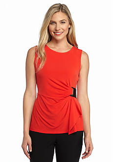Calvin Klein Gathered Side Tank