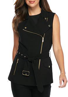 Calvin Klein Zip Front Vest