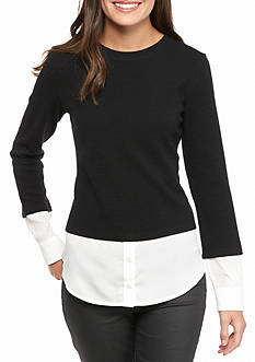 Calvin Klein Textured 2 Fer Top