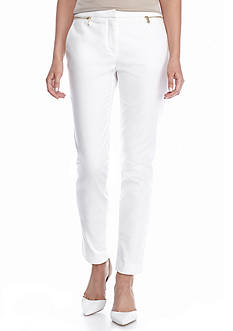Calvin Klein Zip Pocket Ankle Pants
