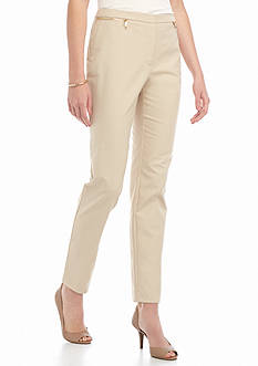 Calvin Klein Zip Pocket Ankle Pants