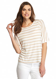 Calvin Klein Striped Linen Tee