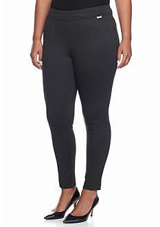 Calvin Klein Plus Size Seamed Pullon Pant
