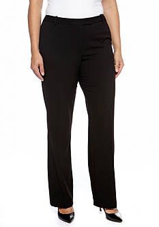 Calvin Klein Plus Size Woven Madison Pant