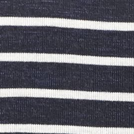Knit Tops For Juniors: Navy/White Stripe love, Fire Stripe Slit Tunic