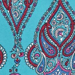 Juniors: Tops Sale: Mint Multi love, FIRE Printed Woven Blouse