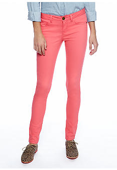 Fire Colored Skinny Jean