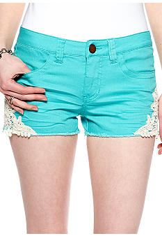Fire Crochet Inset Short