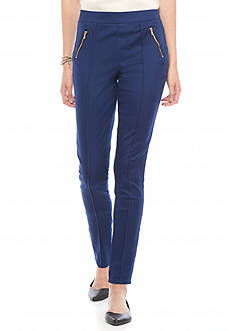 Tinseltown Solid Zip Pocket Skinny Jeans