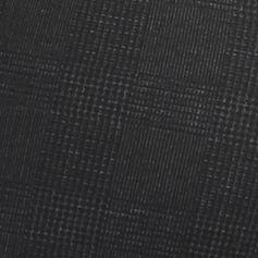 Juniors Suits: Charcoal Glen Plaid love, Fire Printed Side Zip Ponte Skinny