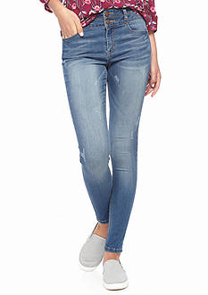 Tinseltown Double Stacked High Waist Skinny Jeans