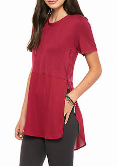 love, Fire Solid Knit Top